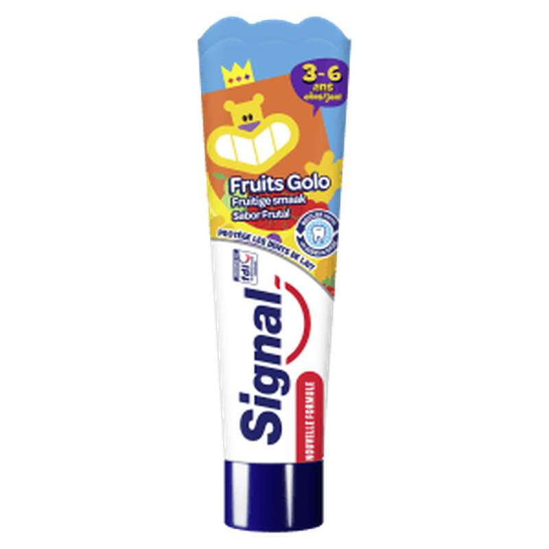 Dentifrice Kids Fruits Golo 3-6 ans, Signal (50 ml)