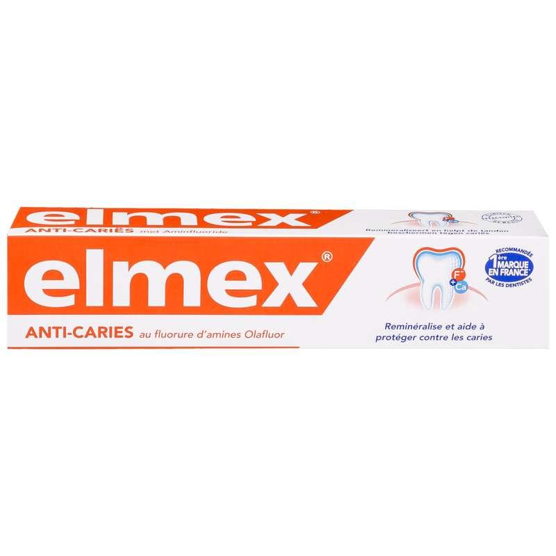 Dentifrice anti-caries, Elmex (75 ml)