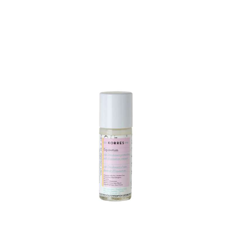 Déodorant 24H Peaux sensibles & épilées, sans sels d' aluminium, Korres (30 ml)