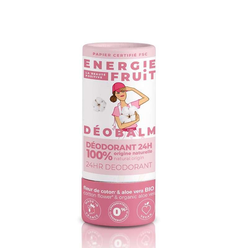 Déobalm Fleur de coton et Aloe Vera, Energie Fruit (30 ml)