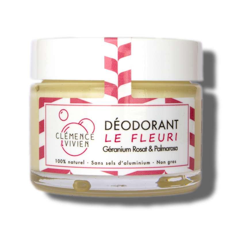 Déodorant crème Le Fleuri BIO, Clémence & Vivien (50 gr)