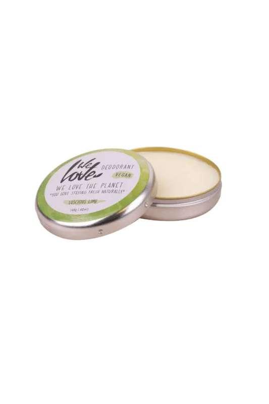 Déodorant crème Luscious Lime, We Love The Planet (48 gr)