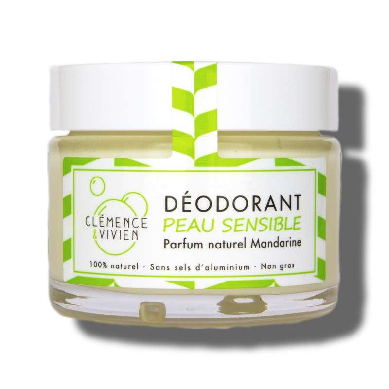 Déodorant crème Mandarine BIO, Clémence & Vivien (50 gr)