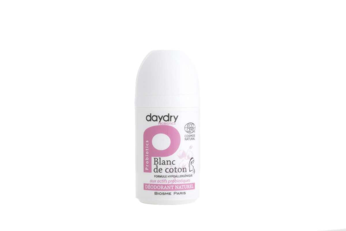 Déodorant naturel Fleur de coton BIO, DayDry (50 ml)