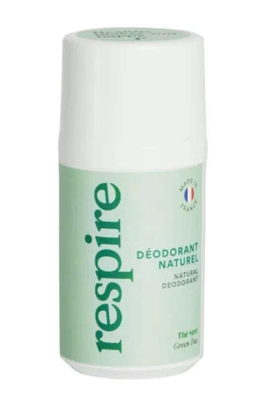 Déodorant naturel Thé Vert BIO, Respire (50 ml)