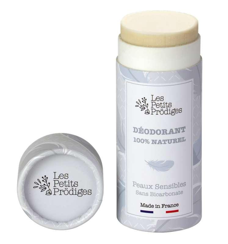 Déodorant solide 100% naturel Peaux Sensibles, Les Petits Prödiges (50 g)