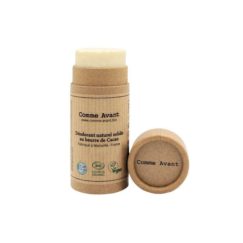 Déodorant solide au beurre de cacao BIO, Comme Avant (50 g)