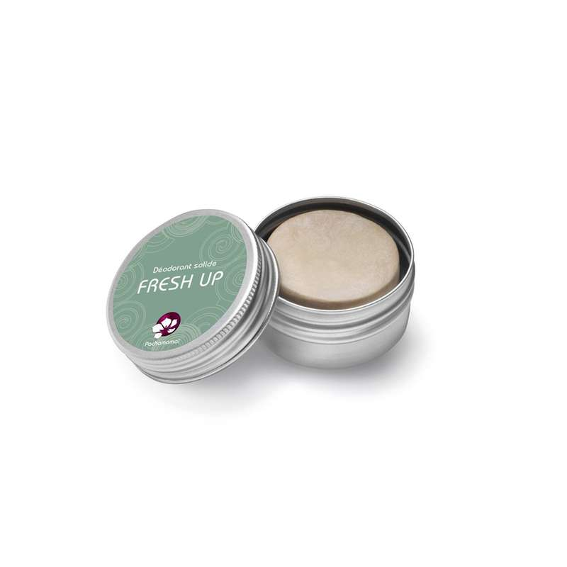 Déodorant solide boîte métal Fresh up, Pachamamaï (25 g)