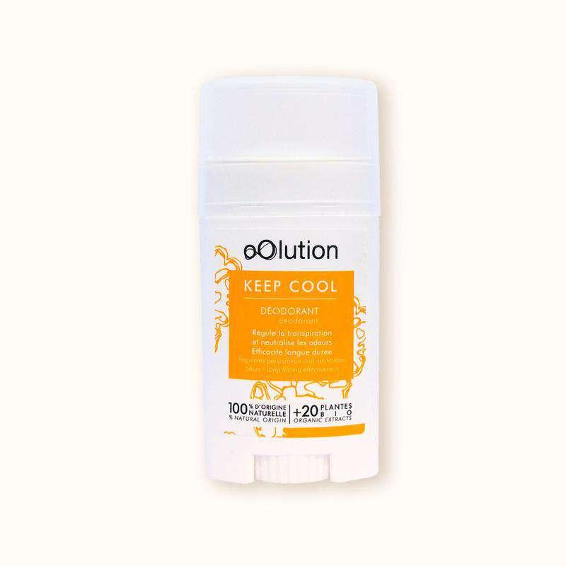 Déodorant solide naturel agrumes Keep Cool BIO, Oolution (40g)