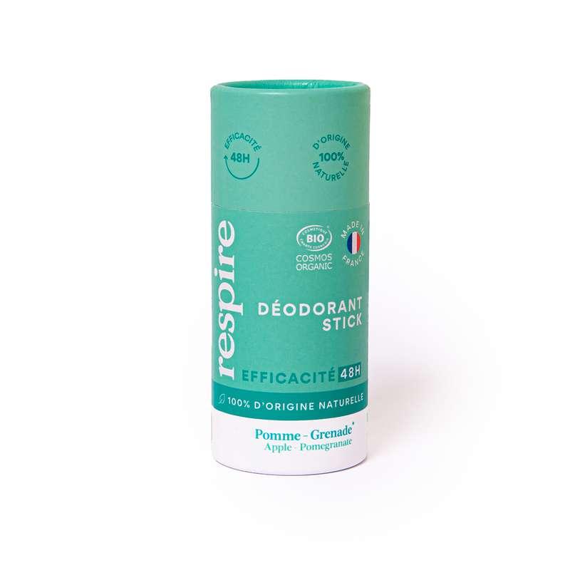 Déodorant stick Pomme Grenade BIO, Respire (50 gr)