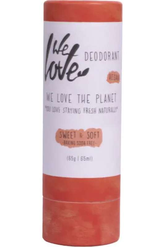 Déodorant stick Sweet & Soft, We Love The Planet (65 gr)