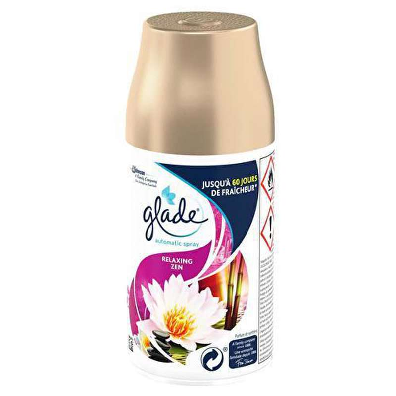 Désodorisant Automatic Spray Relaxing Zen, Glade by Brise (269 ml)