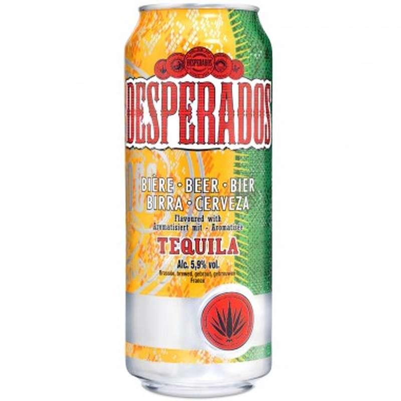 Desperados Original Tequila 5°9 en canette (50 cl)