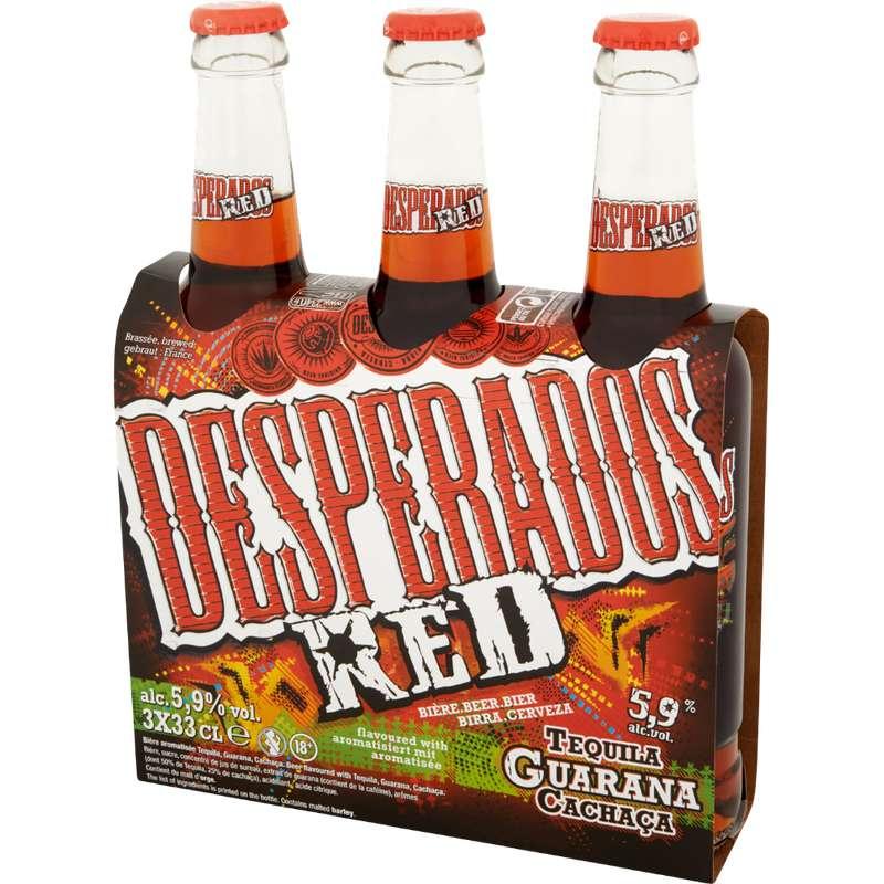 Pack de Desperados Red (3 x 33 cl)