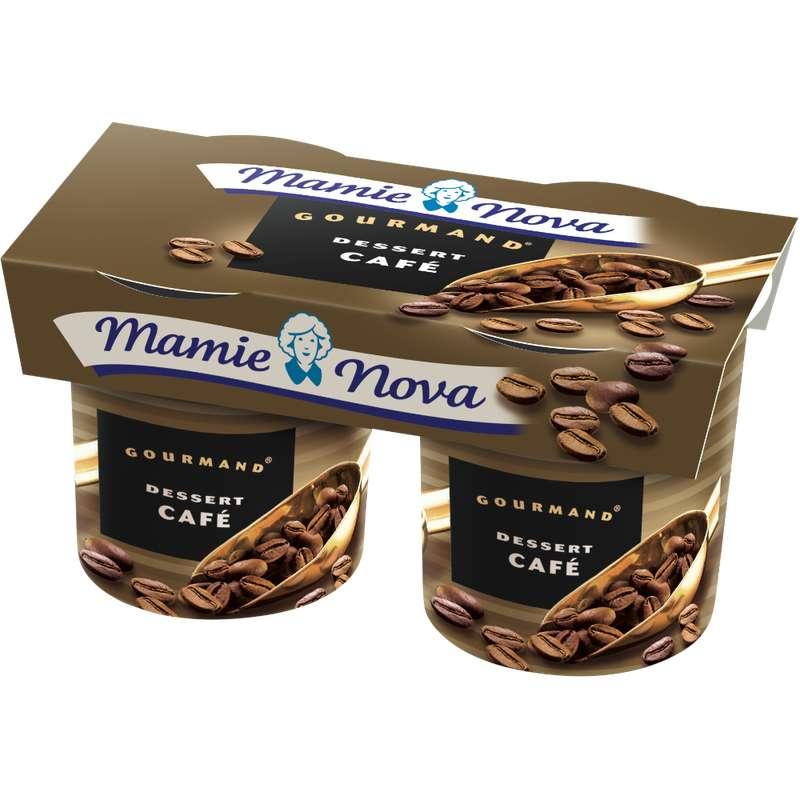 Dessert Gourmand au Café, Mamie Nova (2 x 150 g)