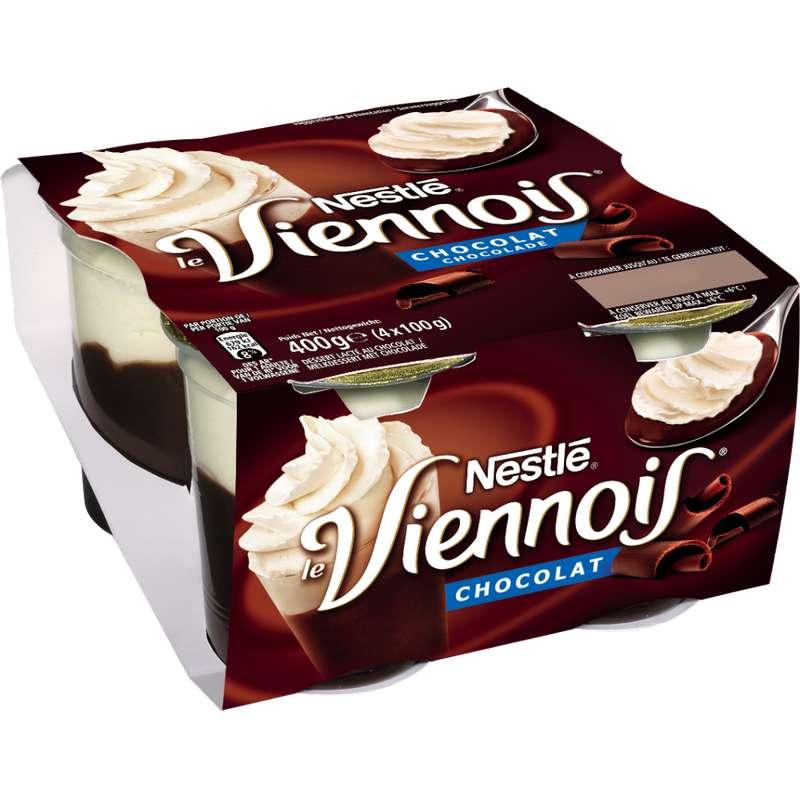 Le Viennois au chocolat, Nestlé (4 x 100 g)