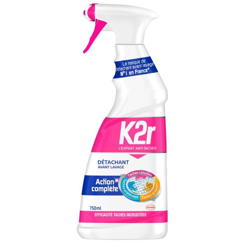 Détachant avant-lavage action complète, K2R (750 ml)
