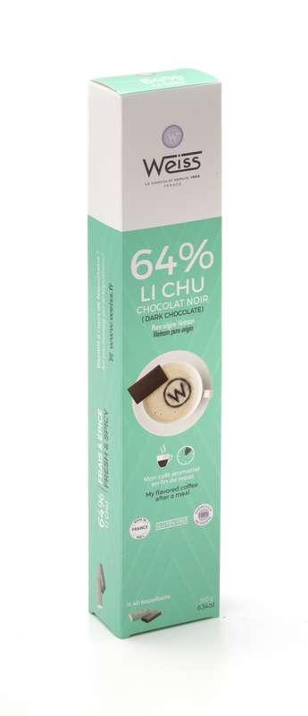 Napolitains Li Chu 64%, Weiss (x 40, 180 g)