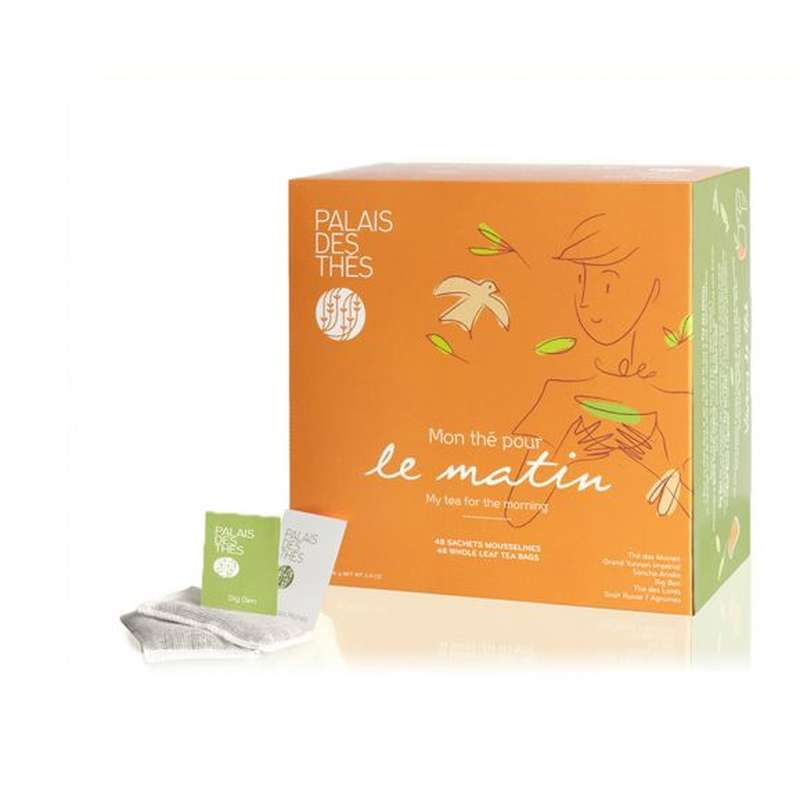 Coffret mon thé pour le matin, Palais des Thés (x 48)
