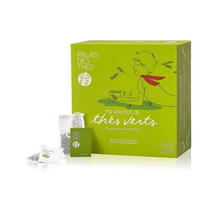 Coffret ma sélection de thés verts, Palais des Thés (x 48)