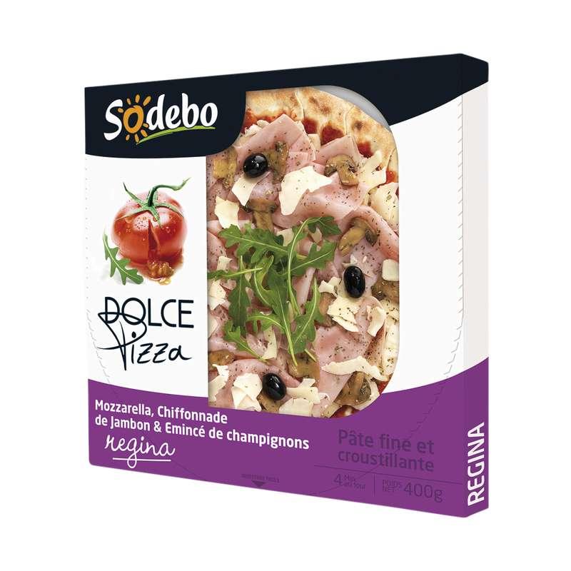"""Pizza """"Dolce"""" Regina, Sodebo (400 g)"""