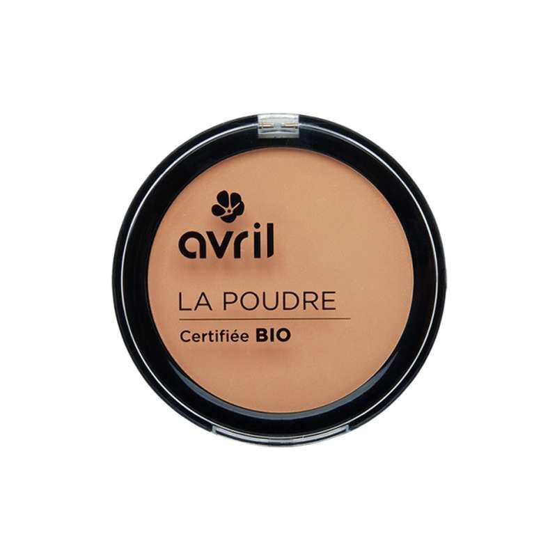 Poudre compacte dorée certifiée BIO, Avril (7 g)