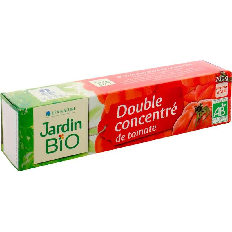 Double concentré de tomate BIO, Jardin Bio (200 g)