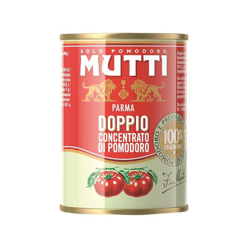 Double concentré de tomates, Mutti (140 g)