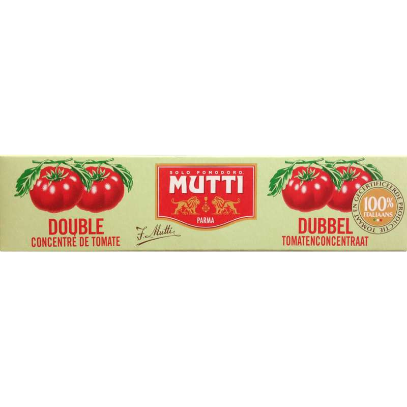 Double concentré de tomates, Mutti (130 g)