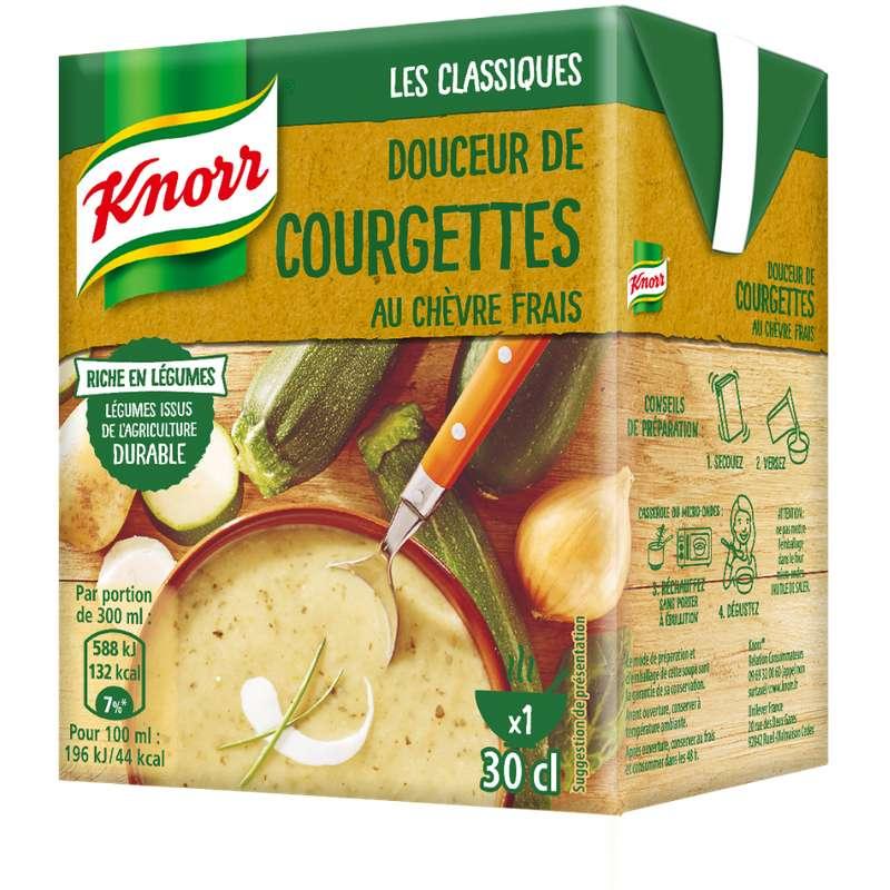Douceur de courgette au chèvre frais, Knorr (30 cl)