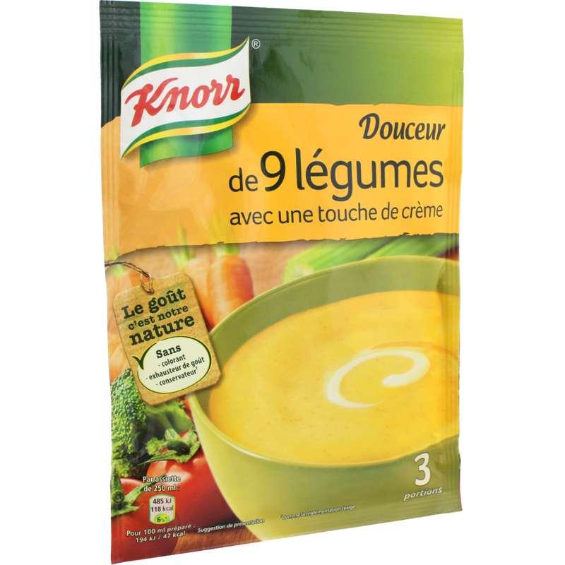 Douceur de 9 légumes déshydratée, Knorr (84 g)
