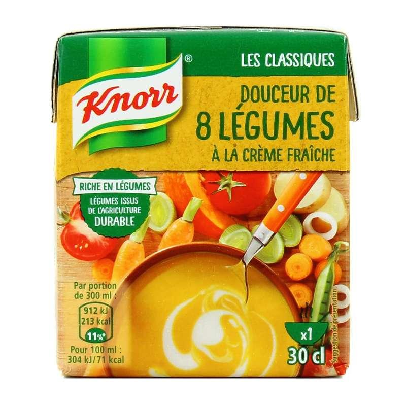 Douceur 8 légumes Creme Fraiche, Knorr (30 cl)