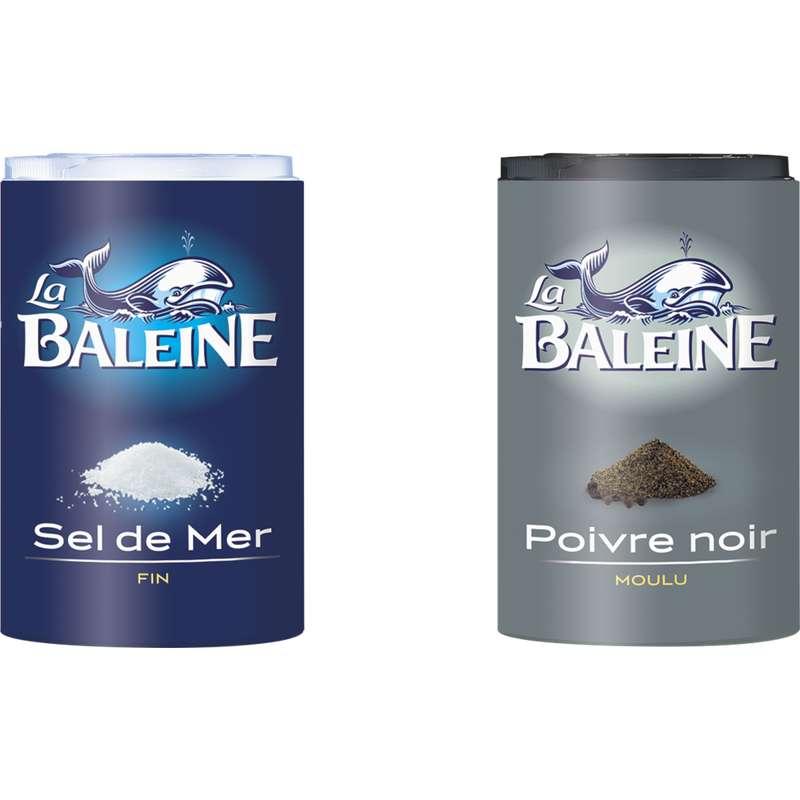 Duo sel & poivre, La Baleine (68 g)