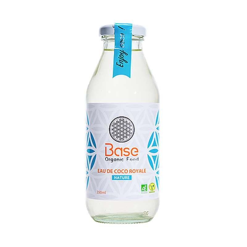 Eau de coco royale nature BIO, Base Organic Food (350 ml)