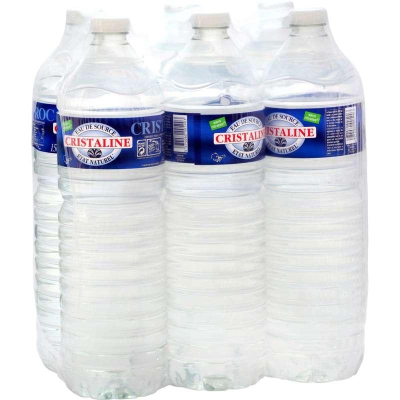 Pack de Cristaline (6 x 1.5 L)