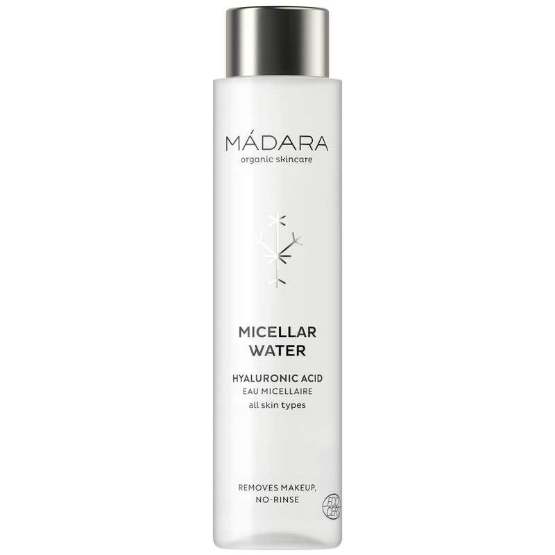 Eau micellaire à l'acide hyaluronique BIO, Madara (100 ml)