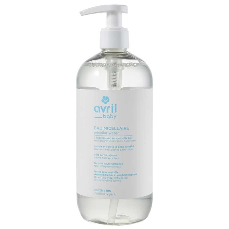 Eau micellaire bébé certifiée BIO, Avril (500 ml)