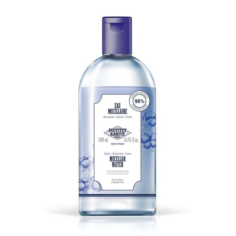 Eau micellaire - sans parfum, Institut Karité (500 ml)