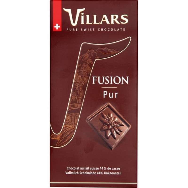 Chocolat au lait suisse fusion pur, Villars (100 g)