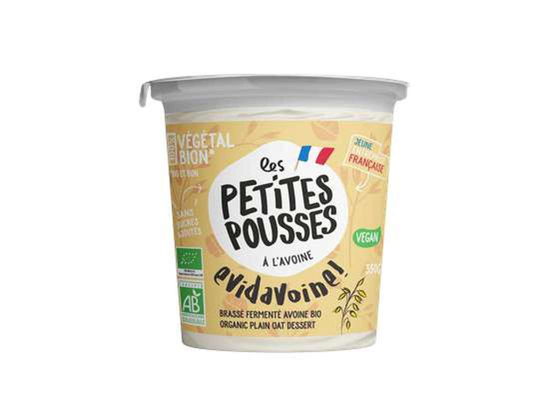 Echantillon de Brassé fermenté à l'avoine BIO, Les Petites Pousses (350 g)