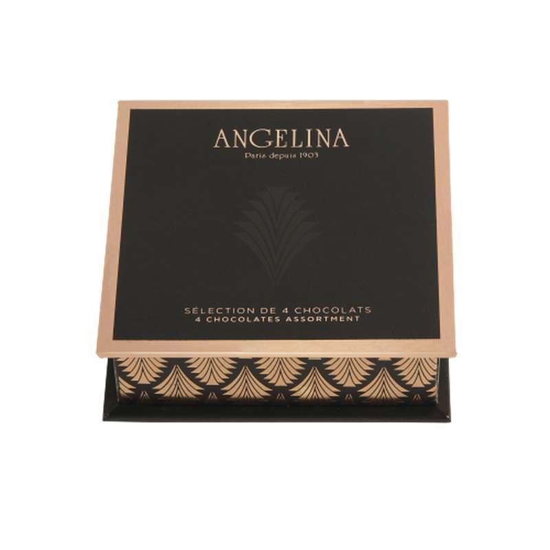 Ecrin 4 chocolats, Angelina (x4, 120 g)