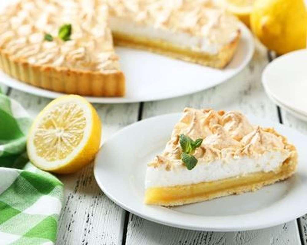 Grande tarte au citron meringué façon key lime Rachel's Cake (36h à l'avance)