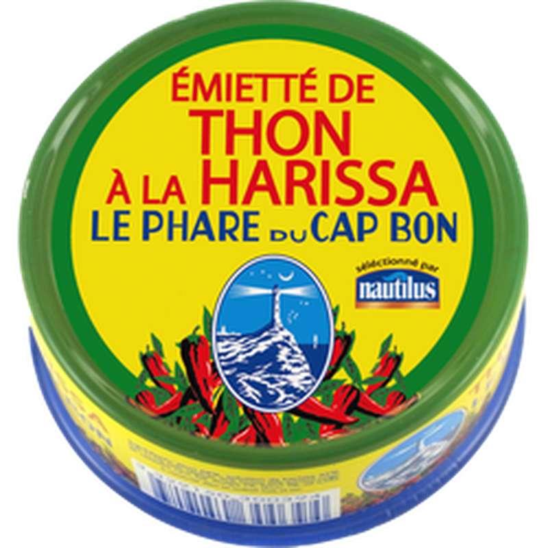 Emietté de thon à la Harissa Le Phare du Cap Bon, Nautilus (162 g)
