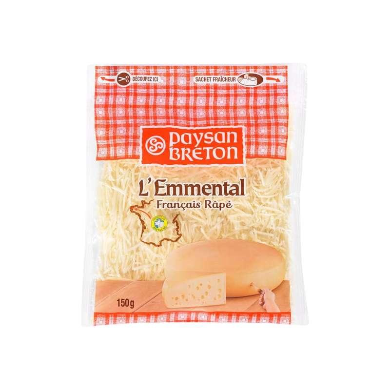 Emmental rapé 28% MG, Paysan Breton (150 g)