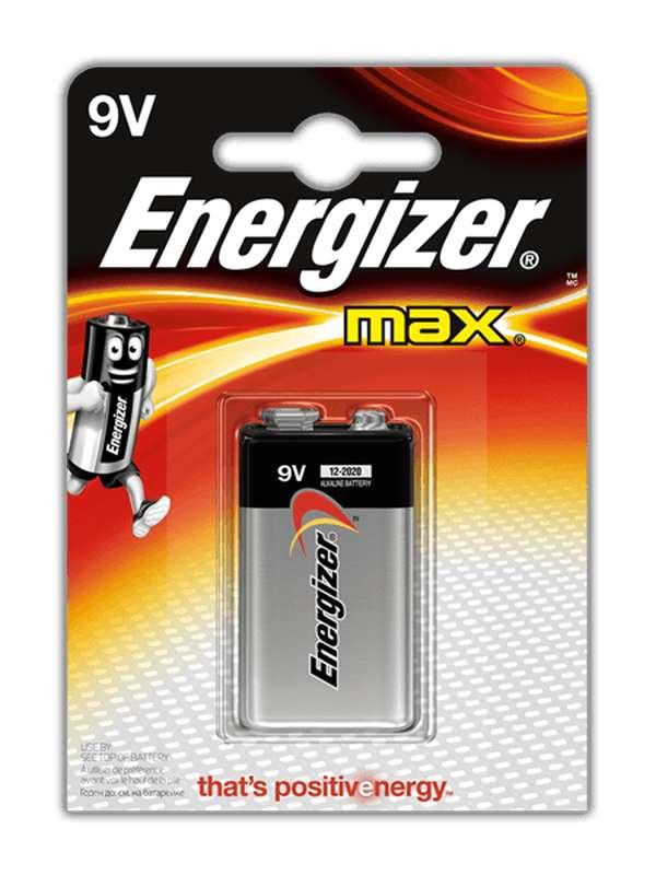 Pile 9V Max, ENergizer (x 1)