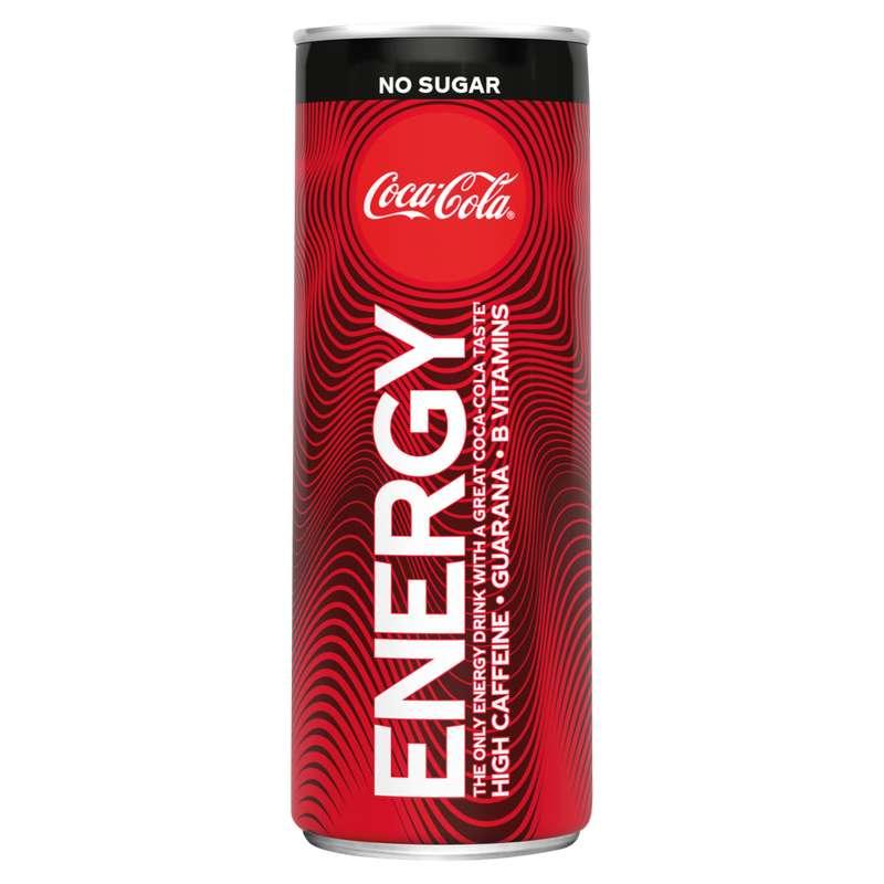 Coca Cola Energy sans sucres - boisson energetique (25 cl)