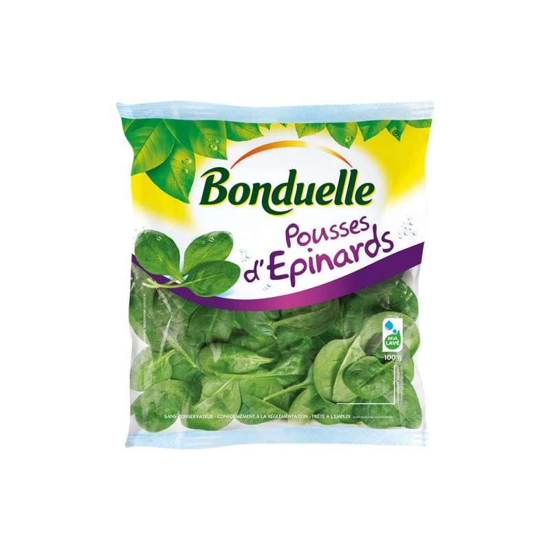 Pousses d'épinard, Bonduelle (100 g)
