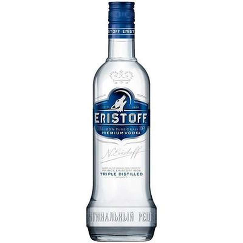 Vodka Eristoff 37,5° (70 cl)