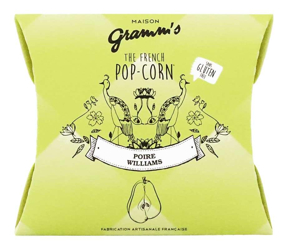 Étui de Pop-Corn caramel au beurre salé à la poire, Maison Gramm's (30 g)
