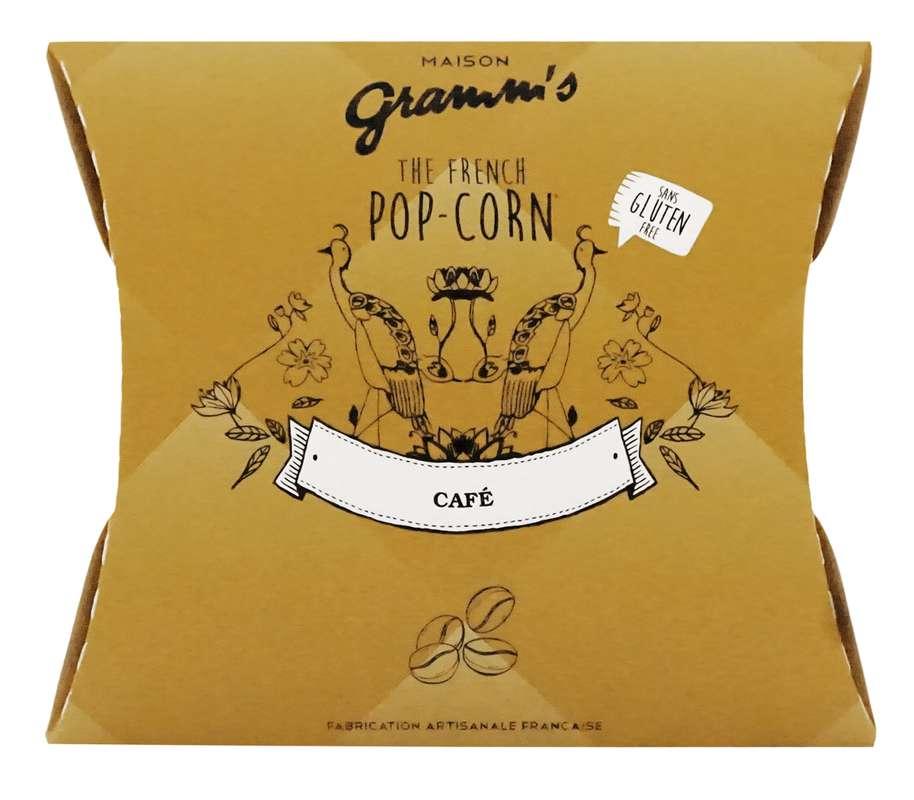 Étui de Pop-Corn caramel au beurre salé au café léger, Maison Gramm's (30 g)